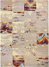 Novel VINTAGE-TEPPICH 120/180 cm Grau, Multicolor