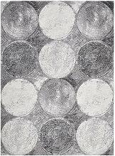 Novel VINTAGE-TEPPICH 120/180 cm Grau, Schwarz,