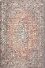 Novel VINTAGE-TEPPICH 155/230 cm Rosa, Beige ,