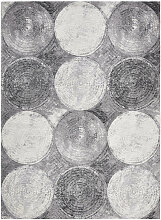 Novel VINTAGE-TEPPICH 160/230 cm Grau, Schwarz,