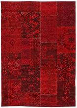 Novel VINTAGE-TEPPICH 200/300 cm Dunkelrot ,