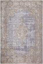 Novel VINTAGE-TEPPICH 68/135 cm Blau, Beige ,