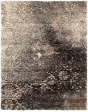 Novel VINTAGE-TEPPICH 80/150 cm Braun, Schwarz ,