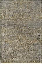 Novel VINTAGE-TEPPICH 80/150 cm Gelb, Grau ,