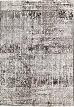 Novel VINTAGE-TEPPICH 80/150 cm Grau , Abstraktes,