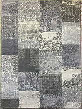 Novel VINTAGE-TEPPICH Grau , Patchwork