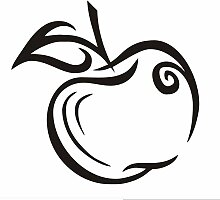 NOVELOVE Hauptdekoration wandkunst grün Apple