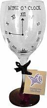 Novelty 'Wine O Clock', handbemalt, 340