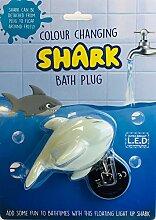 Novelty Gifts Badewannenstöpsel Hai mit
