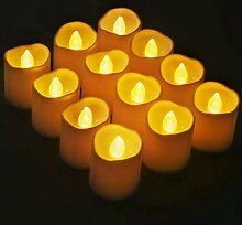 Novelty Place LED Kerzen Batteriebetriebene