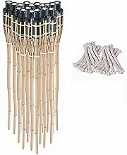 Noveste Bambusfackel Gartenfackel Bambus Fackel
