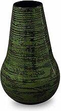 NOVICA 127.541cm Chlorophyll Bambus Vase, grün