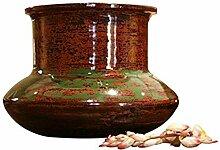 NOVICA 164.536,1cm Orbit Vase, lackiert Bambus,
