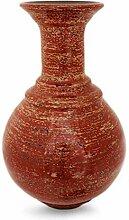 NOVICA 479.897,4cm Lava Tempel Vase, lackiert
