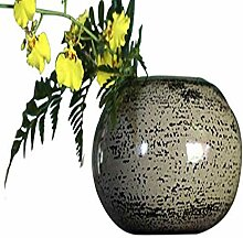 NOVICA Dekorative Lack-Vase, beige, 64769 cm,