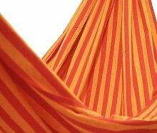 Novica Ipanema Baumwolle Hängematte Amazon, Sonnenaufgang Red Orange Brigh