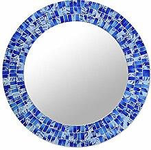 NOVICA tropischen Fusion 'Glas Mosaik Spiegel,