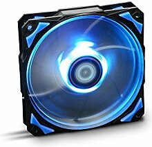 NOX–Ventilator hfan 12cm LED blau