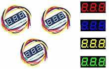 NOYITO 0,7 cm (0,7 Zoll) LED-Voltmeter, digital,