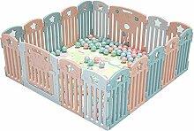 NQAZ Baby Laufgitter Kinderschutz Barriere Spiel