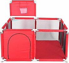 NQAZ Kinderlaufstall für Kinderbecken Babyzaun