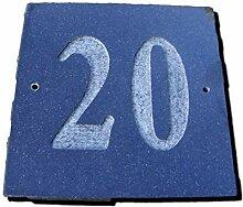 Nr. 20schwarz granit Haus Tür Nummer Platz