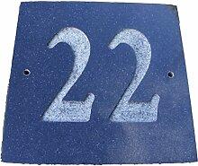 Nr. 22schwarz granit Haus Tür Nummer Platz