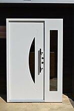 Nr.5, Design Haustür, Wohnungstür in Weiß
