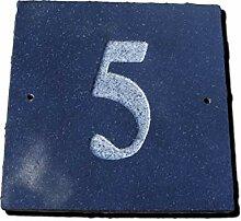 Nr. 5schwarz granit Haus Tür Nummer Platz