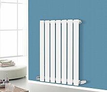 nrg-radiator Horizontal Design Single Panel Oval Spalte Heizkörper weiß 600x 413Badezimmer Zentralheizung