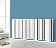 nrg-radiator waagerecht 2Panel Oval Spalte Designer Heizkörper Badezimmer Weiß 600x 1593Zentralheizung