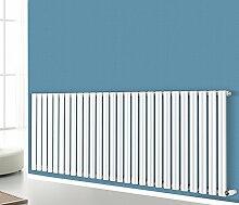 nrg-radiator weiß 600x 1593Horizontal Oval Spalte Single Panel Design Badezimmer Heizkörper Zentralheizung