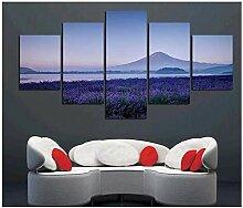 NRRTBWDHL Landschaft Leinwand gedruckt Gemälde
