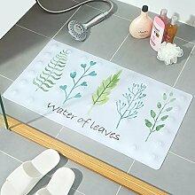 NSSBZZ*Bad Handtuchmatte Bad Badematte Duschmatte 40 * 70cm White /a
