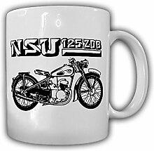 NSU 125 ZDB Motorrad Oldtimer Maschine Sammler Kaffee Becher Tasse #14221