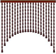 NSYNSY 31 Stränge Holz Perlen Vorhänge Tür
