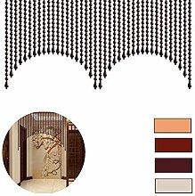 NSYNSY Holz Perlen Vorhänge Tür Schnur Perlen