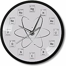 nuanyang Wanduhr Chem Zeit Periodensystem