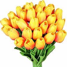 Nubry 30 künstliche Tulpenblumen, künstliche