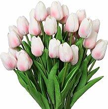 Nubry 30 Stück künstliche Tulpen Blumen Fake