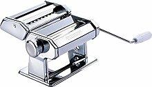 Nudel-Maschine mit 9 verschiedenen Pastastärken Pasta-Maschine Pasta-Maker Nudelpresse mit Kurbel Teigmaschine Spaghetti Teigroller