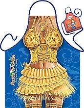 Nudel Pasta Motiv Kochschürze sexy Frauenkörper