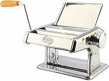 Nudelmaschine Manuell, Edelstahl Pastamaschine