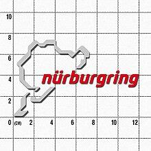 Nürburgring Aufkleber Logo 12cm