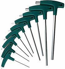 NUJA-Tools, 9pcs T-Griff Hex Inbusschlüssel