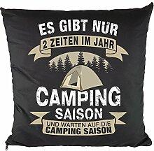 Nukular Kissen inkl. Füllung (Camping Saison) -
