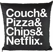 Nukular Kissen inkl. Füllung (Couch Pizza Chips