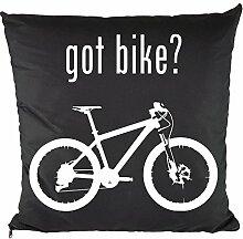 Nukular Kissen inkl. Füllung (Got Bike?) - 37cm x