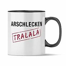 Nukular Tasse Arschlecken Tralala Toller Becher
