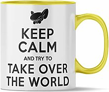 Nukular Tasse Keep Calm - and take Over The World